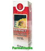 Extract hidro-glicero-glicolic de propolis 33%  25ml Manicos