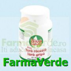 Fara Raceala Fara Gripa 60 capsule Bios Natura
