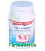 Ferovit C ( fier + vit C ) 40 capsule Favisan