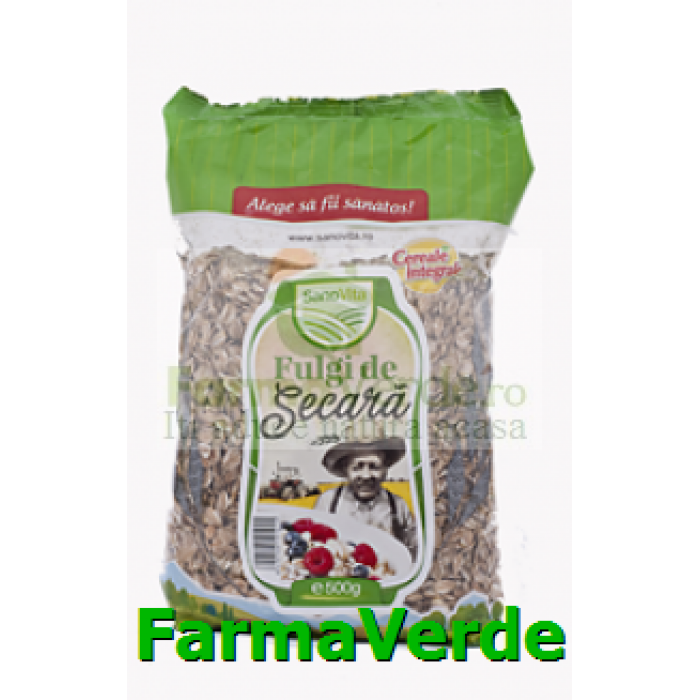 Fulgi De Secara Cereale 500 gr SANO VITA
