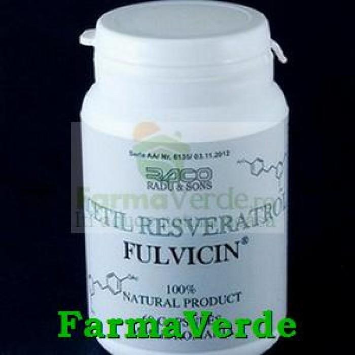 FULVICIN Asphaltum 60 capsule Radu&Sons