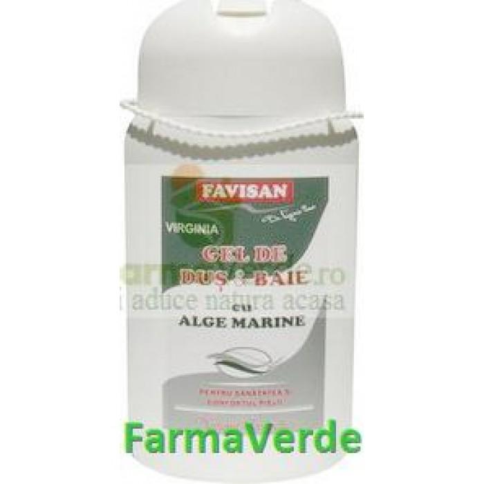 Gel dus & Baie cu Alge Marine 300 ml Favisan