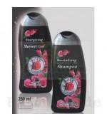 Gel de dus energizant parfumat pentru barbati 250 ml BB20 Rose