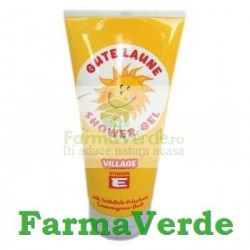 NOU! Gel de dus Smiley Lamaita 200 ml Village Cosmetics