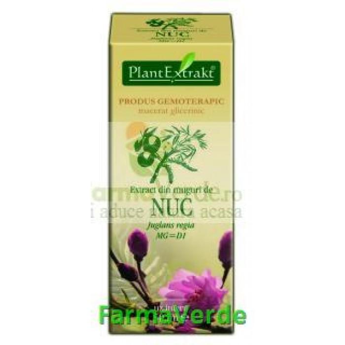 Gemoderivat Extract din muguri de nuc 50ml Plantextrakt