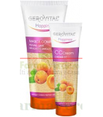 Color Control Crema CC Mediu 50 ml Gerovital Happiness Farmec