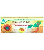 Ginko Biloba + Ginseng + Royal Jelly 10fiole 10ml 1000+200+300mg