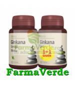 Ginkana Ginkgo Biloba 40 mg Pachet 1+1 30+30 cpr Gratuit! Alevia