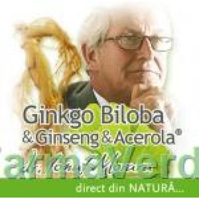 Ginkgo Biloba & Ginseng & Acerola 40 capsule Medica