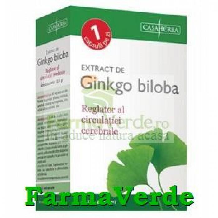 GINKGO BILOBA extract 30 cps CasaHerba