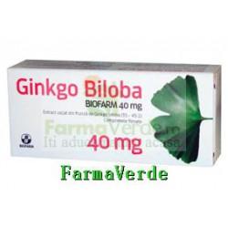 Biofarm Ginkgo Biloba 40 mg 60 Cpr