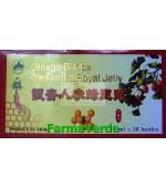 Ginkgo biloba & ginseng 10 Fiole Sanye L&L Plant Advancemed