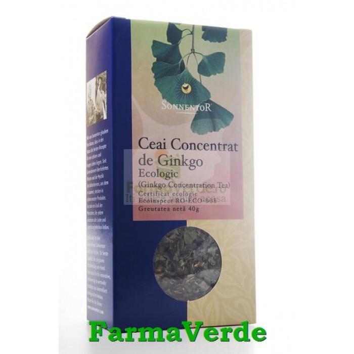 Ceai Concentrat Ginkgo BIO 50 gr Sonnentor