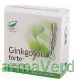 Ginkgoton Forte 30 capsule Medica ProNatura