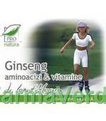 Ginseng & Aminoacizi & Vitamine 150 capsule Medica