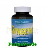 Ginseng Korean 500 mg 100 capsule Natural Plus