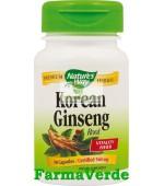 Korean Ginseng Root 50 Capsule Nature's Way Secom