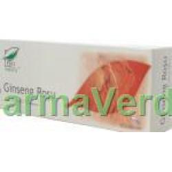 Ginseng rosu 30 capsule Medica ProNatura