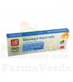 Ginseng & Royal Jelly Solutie Orala 10 fiole Tao Health