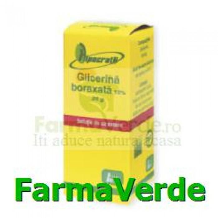 Glicerina boraxata 10% 25g Hipocrate