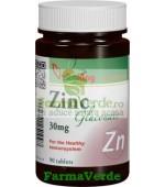 Gluconat de zinc 30 mg 90 comprimate Vitaking