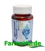 Glucosamine Chondroitin MSM Articulatii 100 capsule BBM