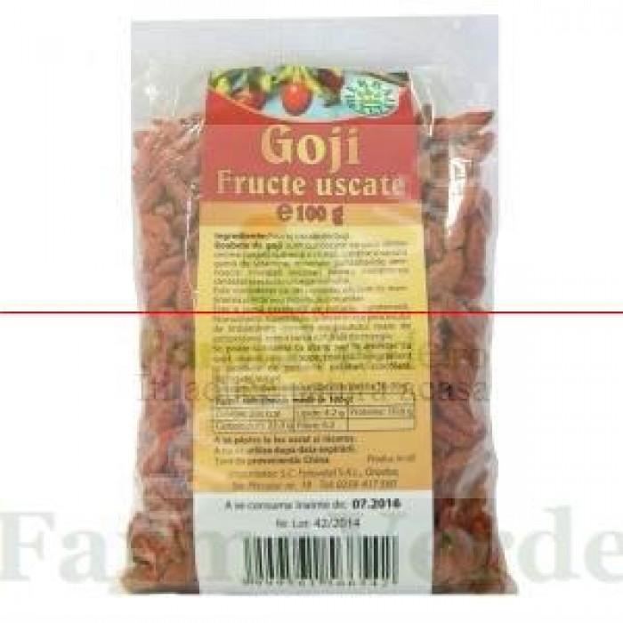 Goji Berry Fructe 250 gr Amedsson