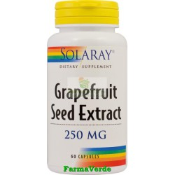 GRAPEFRUIT SEED Extract din Seminte de Grapefruit 60 Cps Secom