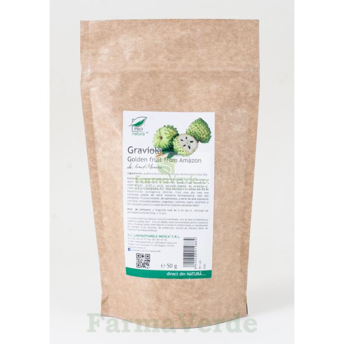 Graviola Golden Fruit Amazon Antitumoral! 50gr ProNatura