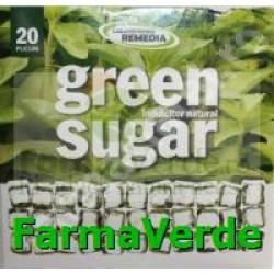 GREEN SUGAR Indulcitor Stevie 20 plicuri Remedia
