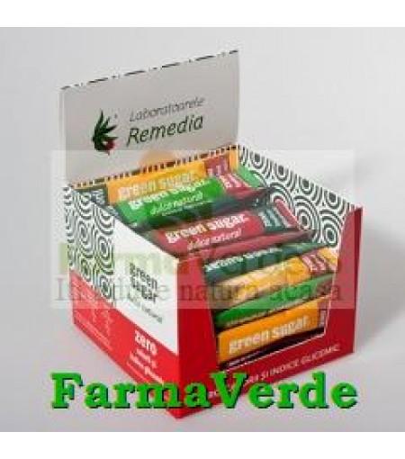 Green Sugar 50 buc STICK-URI Indulcitor Natural! Remedia