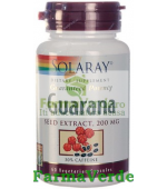 Guarana 60 capsule Solaray Secom