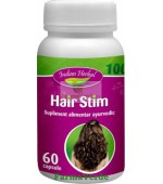 Hair Stim Cresterea Parului 60 tablete Indian Herbal