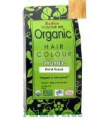 Henna Organic Vopsea de Par din Plante BLOND ROSCAT 100 gr