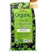 Henna Organic Vopsea de Par din Plante BLOND AURIU 100 gr