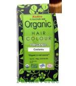 Henna Organic Vopsea de Par din Plante CASTANIU 100 gr