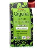 Henna Organic Vopsea de Par din Plante ROSU DE BURGUNDIA 100 gr