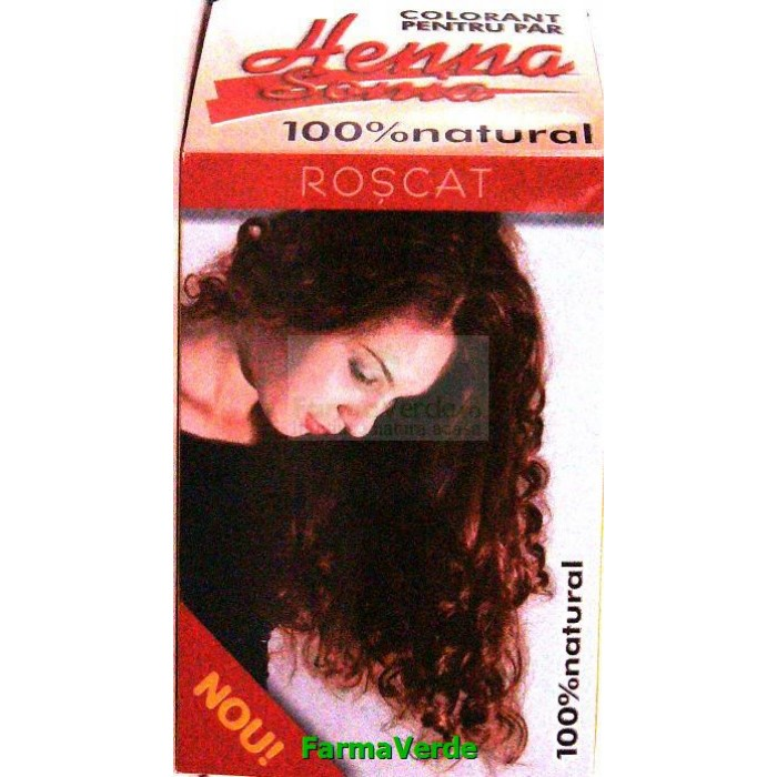 Henna Sonya Roscat Colorant Pentru Par 100 g