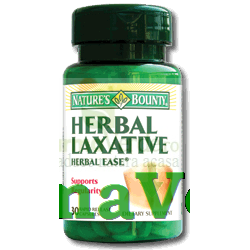Herbal Laxative 30 cps Nature's Bounty Walmark