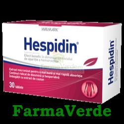 Hespidin Mentine o buna Circulatie Venoasa 30 cpr Walmark