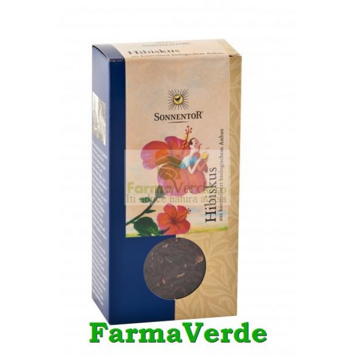 Ceai de Fructe Hibiscus 80 gr Sonnentor