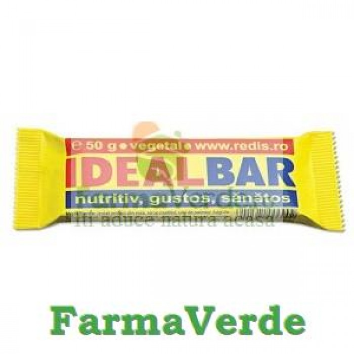Baton Ideal Bar 50 gr Redis Nutritie