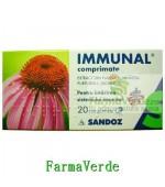 Immunal 20 cpr pentru intarirea sistemului imunitar Sandoz
