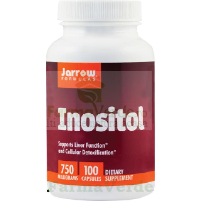 INOSITOL 750 mg 100 capsule Jarrow Secom