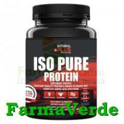 Iso Pure Protein 900 gr Ciocolata Natural Plus
