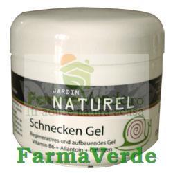 Gel regenerant cu extract de melc 125 ml Jardin Naturel