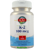 K-2 100 mcg 60 tablete Secom