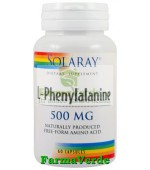 L-PHENYLALANINE 500mg 60 cps Secom