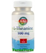 L-THEANINE 100mg 30 tablete Kal Secom