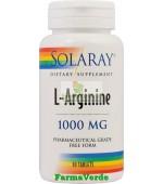 L-Arginine1000 mg 30 Comprimate Solaray Secom
